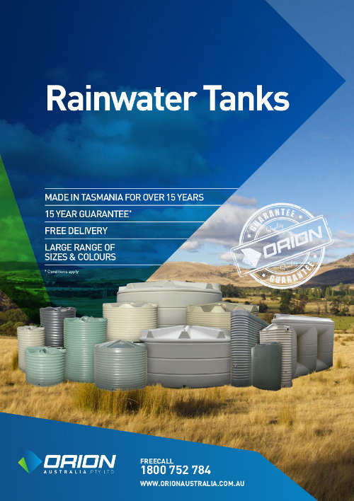 Orion Water Tanks Brochure